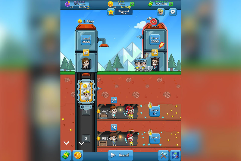 Idle Miner Tycoon - Mine Manager Simulator Screenshot 6