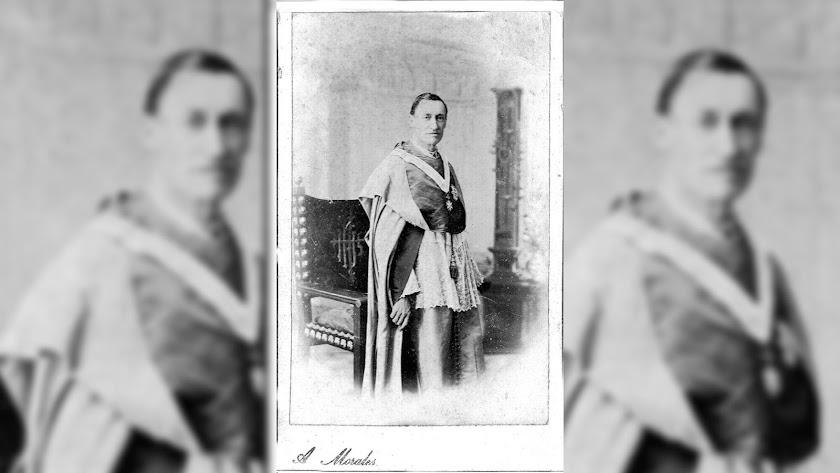 José María Navarro Darax retratado por el fotógrafo Agustín Morales.