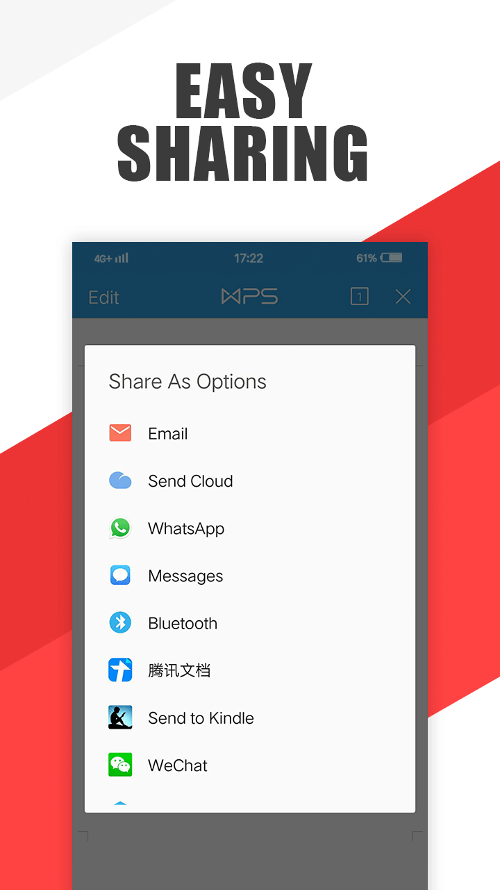 WPS Office - Word, Docs, PDF, Note, Slide & Sheet Screenshot 7