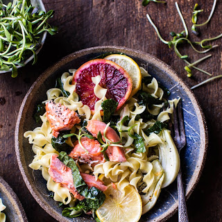 Slow Roasted Citrus Salmon with Fennel and Parmesan..