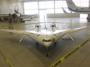 Photo: The Boeing X-48C Hybrid Wing Body (HWB)