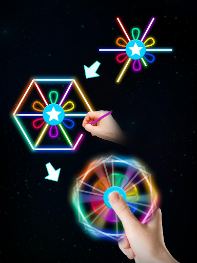 Draw Finger Spinner screenshots apkspray 12