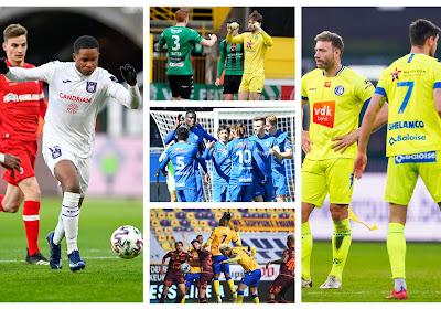 Degradatiekandidaten, Genk en Anderlecht vs Antwerp, Gent en Mechelen