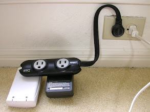 Photo: When traveling or at home, extra plugs are necessary.