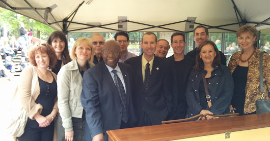 2015-06-29 Public Piano Inauguration at Rembrandt Park with Oliver Jones