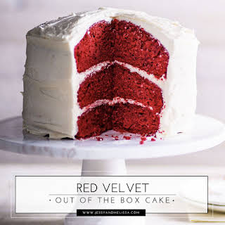 Red Velvet Out of the Box Cake.