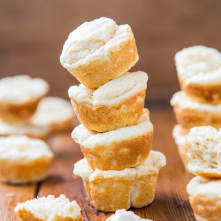 Soft Baked Mini Cream Cheese Puffs