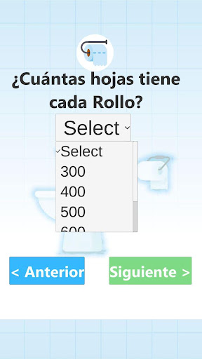 Calculador Papel Higienico screenshot 3