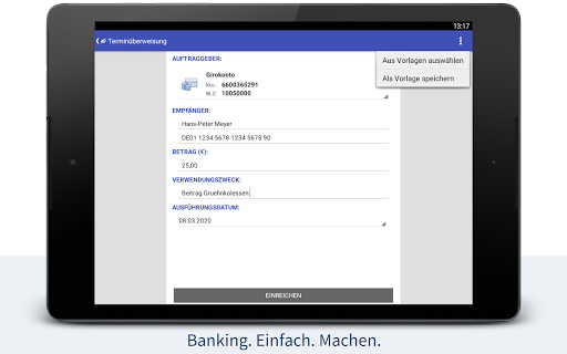 StarMoney - Banking + Kontenübersicht  screenshots 9