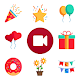 Kids Party Invitation, Birthday Video Status Maker Android apk