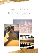 Hey It's a Holiday Party - Photo Card item