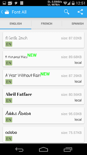 Screenshot for iFont(Expert of Fonts) in Hong Kong Play Store