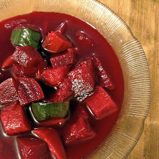Roasted Beet Vegetable Soup