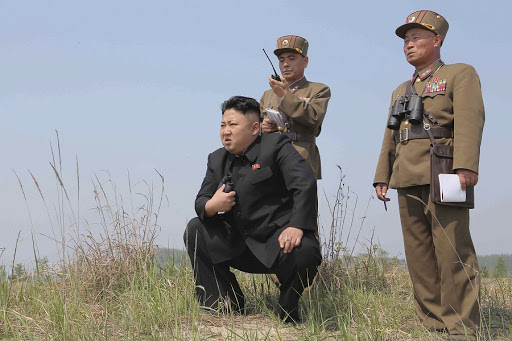 North Korean leader Kim Jong Un. Picture: REUTERS