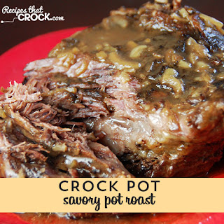 Savory Pot Roast {Crock Pot}
