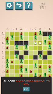 Tende e Alberi Puzzle Screenshot