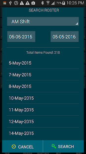 Work Roster Pro screenshot