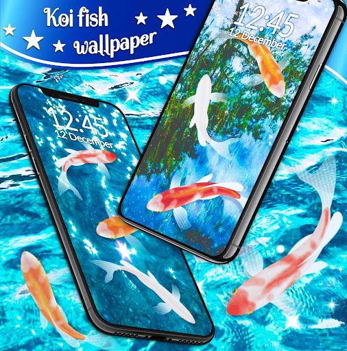 Koi Fish HD Live Wallpaper 4.8.4 screenshots 2