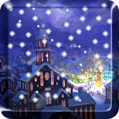 Snow Night Live Wallpaper
