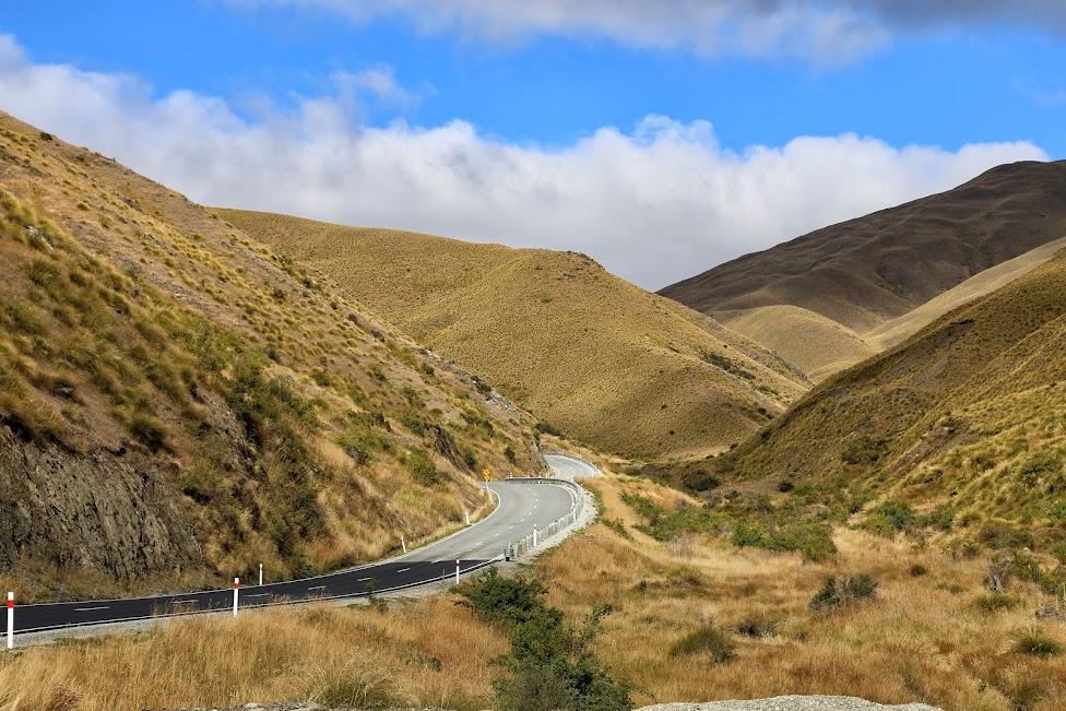 Droga, Nowa Zelandia, tanie podróżowanie