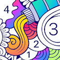 BATIQ 🎨 Coloring book by number | Color Therapy icon