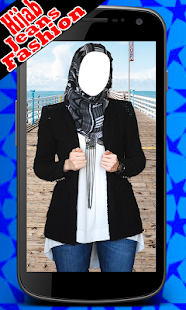 Hijab Jeans Girl Fashion Suit- screenshot thumbnail
