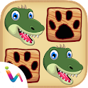 Dinosaurs Matching Pair Games icon