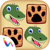 Dinosaurs Matching Pair Games