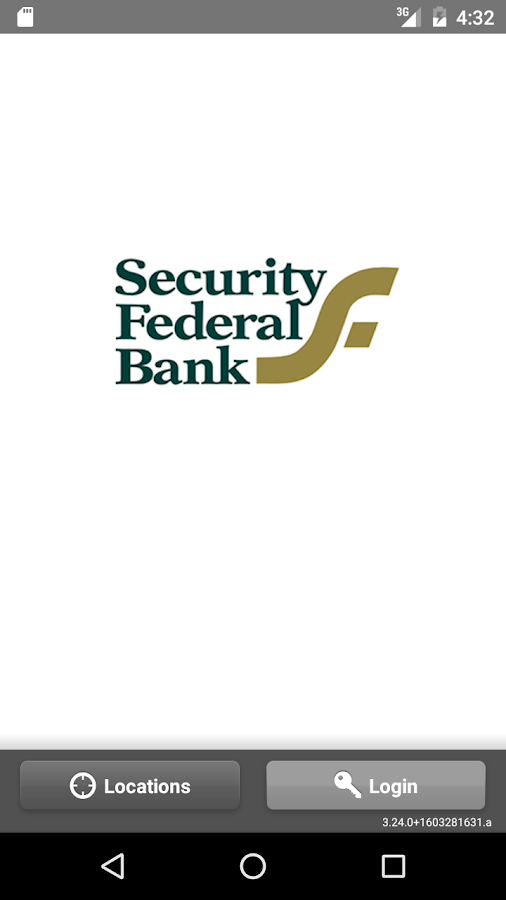Security Federal Bank Mobile- screenshot