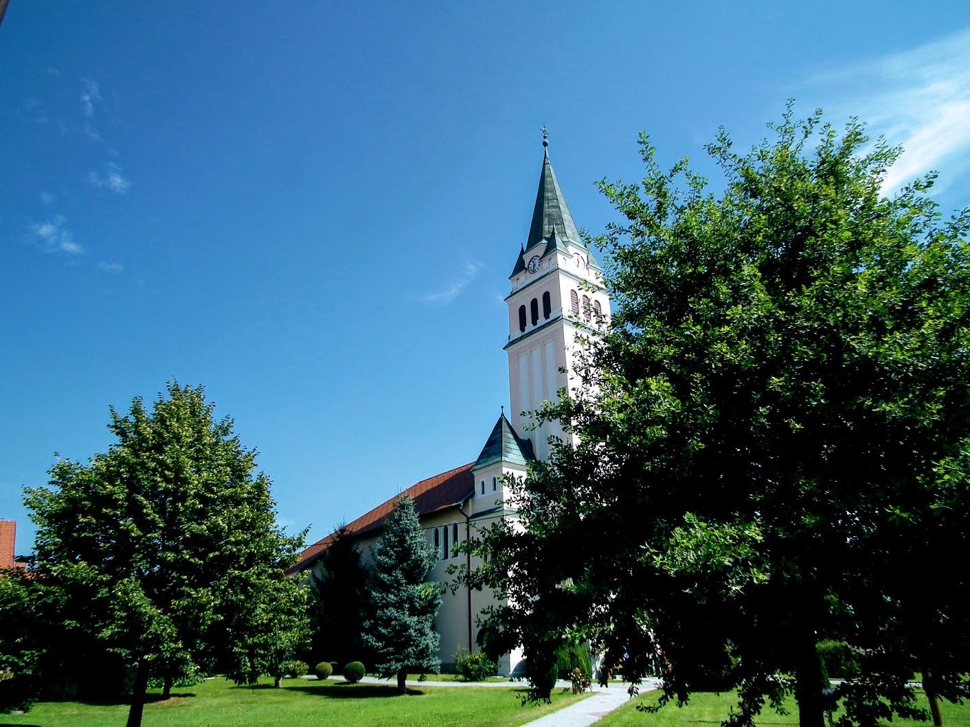 Moravske Toplice (Alsómarác) - Evangeličanska cerkev (evangélikus templom)