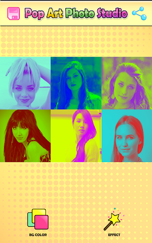 android Pop Art Studio de Photographie Screenshot 5