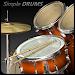Simple Drums Rock - Realistic Drum Set icon