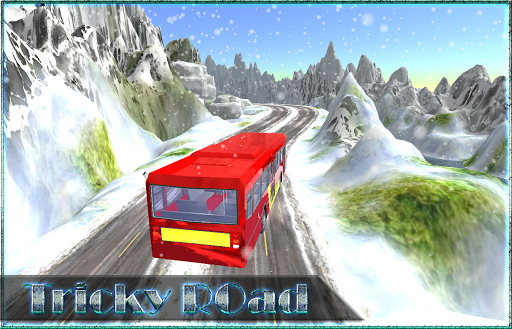Snow Hill Bus Drive 3D