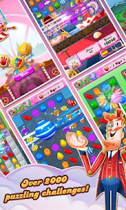 Candy Crush Saga 1.110.1.1 (Unlimited Lives/Moves) Mod Apk 2