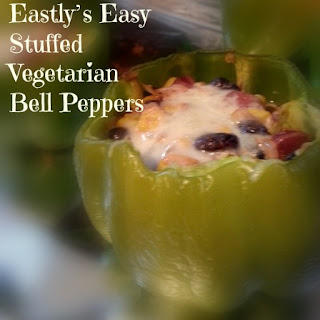 Eastly's Easy Stuffed Vegetarian Bell Peppers