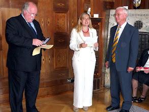 Photo: Frau Staatsekretärin Melanie Huml bei der Laudatio.