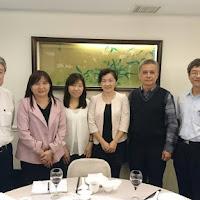國際商務系拜訪南僑集團副總裁兼總經理