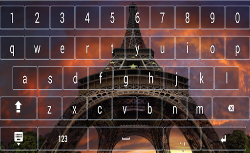 Paris Tower Eiffel Keyboard