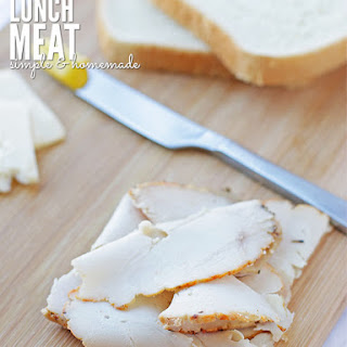 DIY Homemade Lunch Meat.