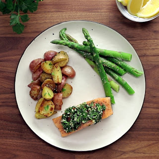 Herb Baked Salmon Recipe