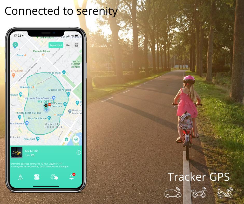 Le Traceur GPS pour le cartable ou le sac des enfants