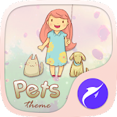 Pet Lovers Theme-YOLO Launcher