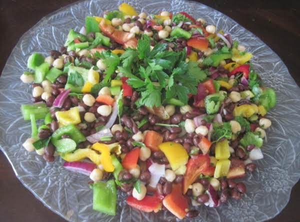 2 Beans And Sweet Pepper Salad Recipe