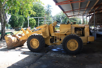 Photo: Cat loader, Noel has a few pieces of equipment here