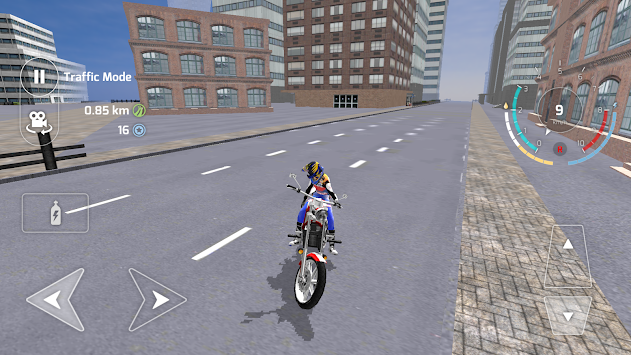 Motorbike Driving Simulator 3D APK screenshot thumbnail 4