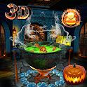 3D Halloween Ghost Night Party Theme 👻 icon
