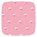 Cupcakes Pink Theme icon