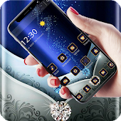 Blue Metal Business Diamond Theme Android APK Download Free By Fantastic Design