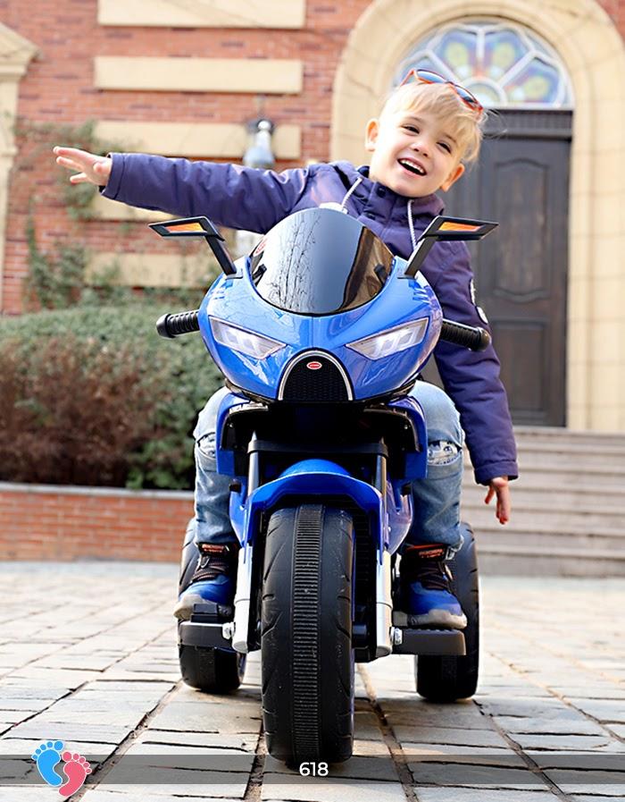 Xe mô tô điện cho bé điều khiển tay ga LT-618 2