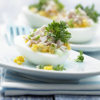 Stuffed Wasabi Eggs